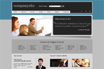 Sample webdesign